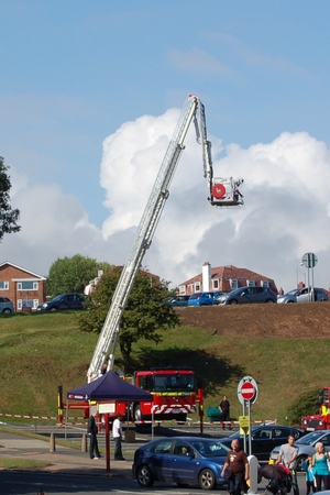 North Yorkshire Fire and Rescue Aerial Platform